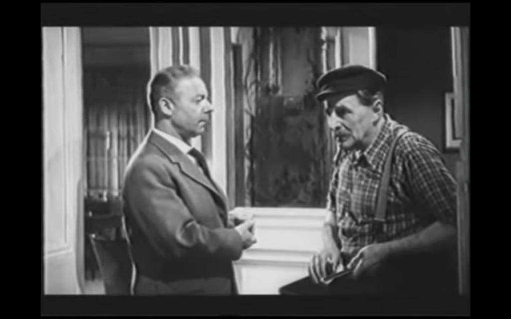 """Heinz Rühmann in """"Ein Mann geht durch die Wand"""""""