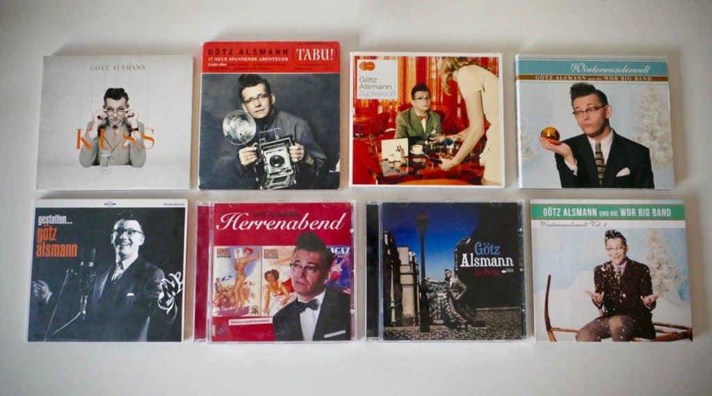 Meine kleine Götz-Alsmann-CD-Sammlung