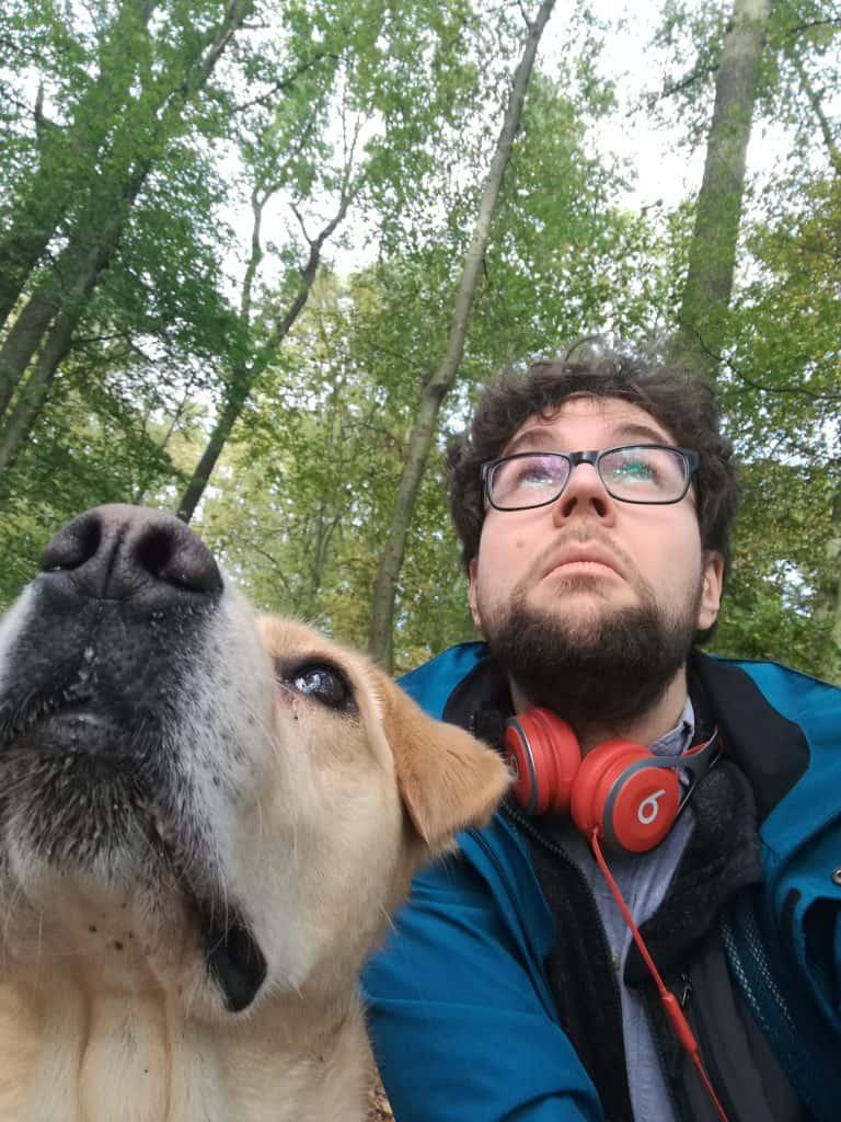 Philipp mit Hund