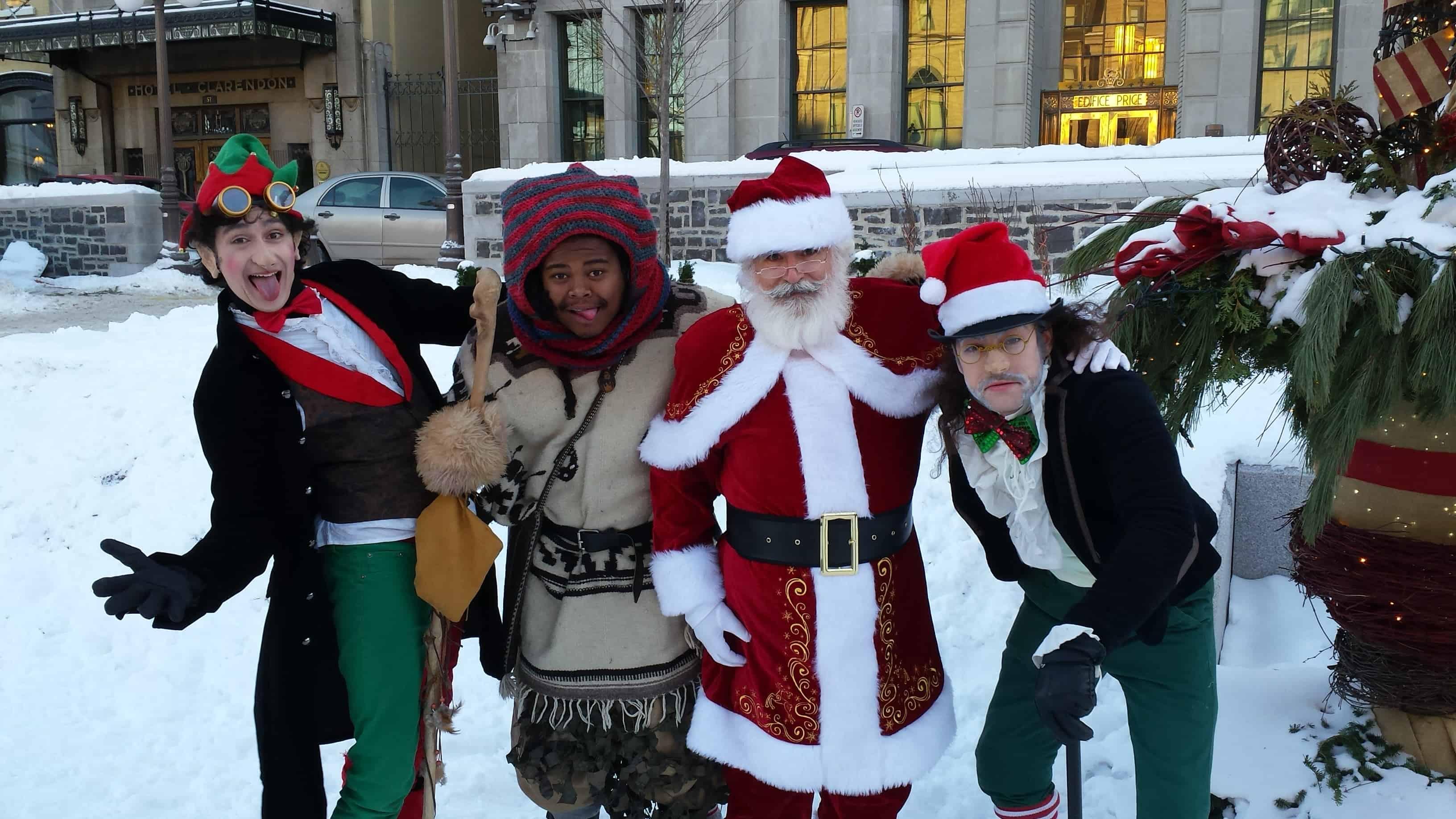 Ein deutscher Weihnachtsmarkt in Kanada
