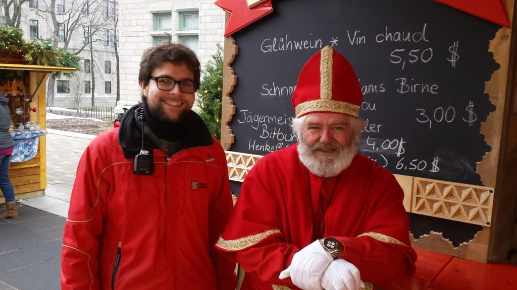 Philipp mit Nikolaus